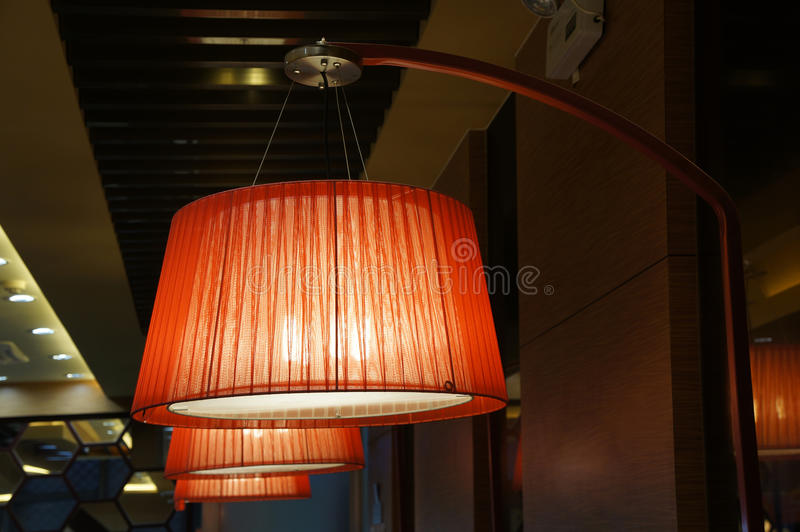 Hanging lights royalty free stock photography