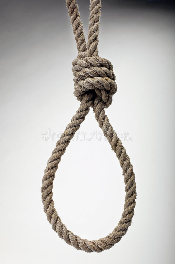 Free Hanging Noose Stock Photography - 3446462