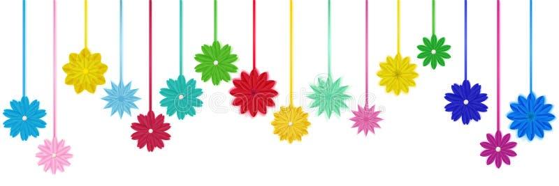 Hanging paper flowers stock vector illustration of romantic 110877093 download hanging paper flowers stock vector illustration of romantic 110877093 mightylinksfo