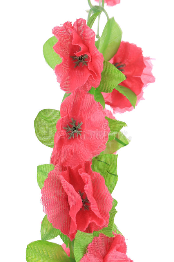 Download Hanging Pink Artificial Flowers. Stock Photo - Image: 41524391