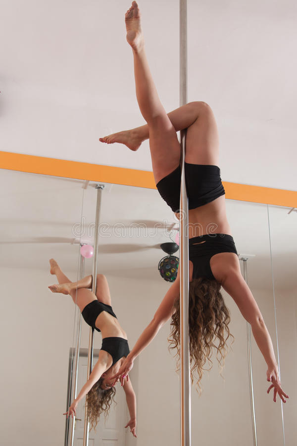 Download Hanging on the pole stock photo. Image of athletics, strong - 27875814