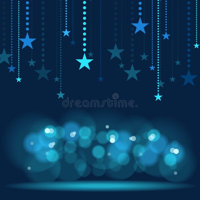 Download Hanging Stars stock vector. Illustration of illustration - 42288588