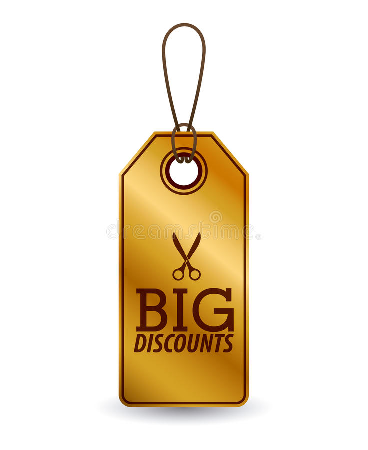 hanging tag design vector illustration