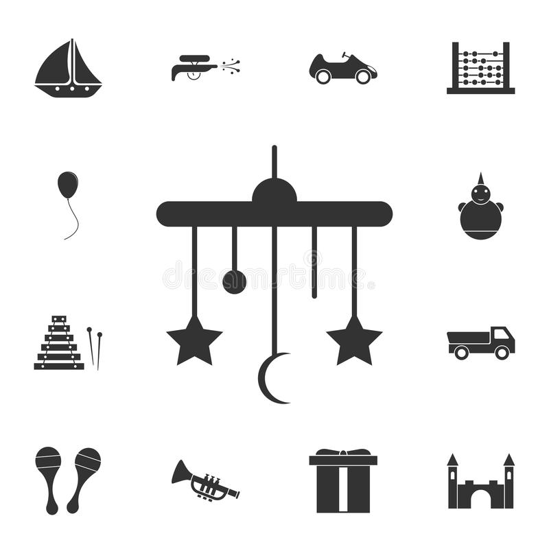Hanging Toys icon. Detailed set of toys icon. Premium graphic design. One of the collection icons for websites, web design, mobile stock illustration