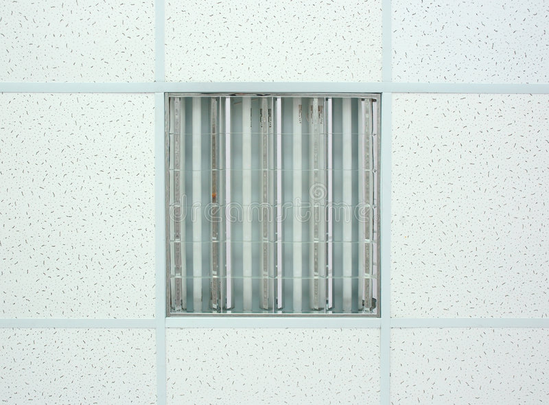 Hanging white ceiling. royalty free stock photos