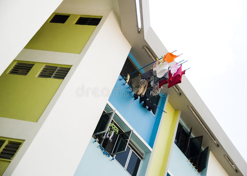 Download Hanging your laundry stock image. Image of hang, item - 2851495