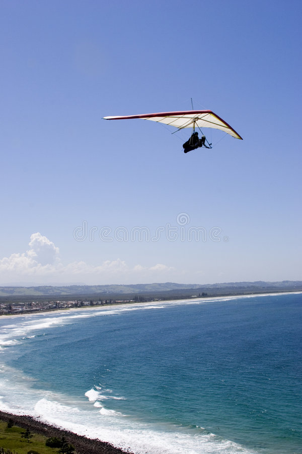 Download Hanglider 3 foto de stock. Imagem de esporte, mosca, oceano - 541162