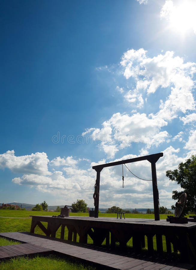 Hangman Editorial Photography