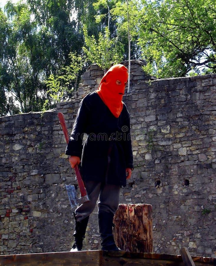 Hangman na execução imagens de stock royalty free