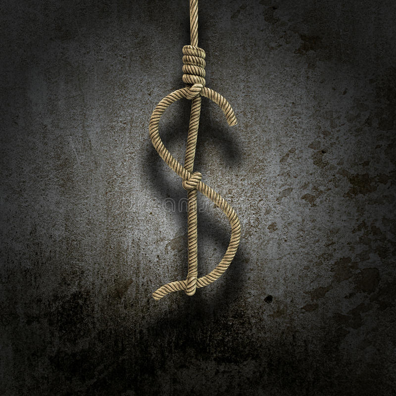 Download Hangman's Knot Shaped Like A Dollar Stock Photography - Image: 26018192