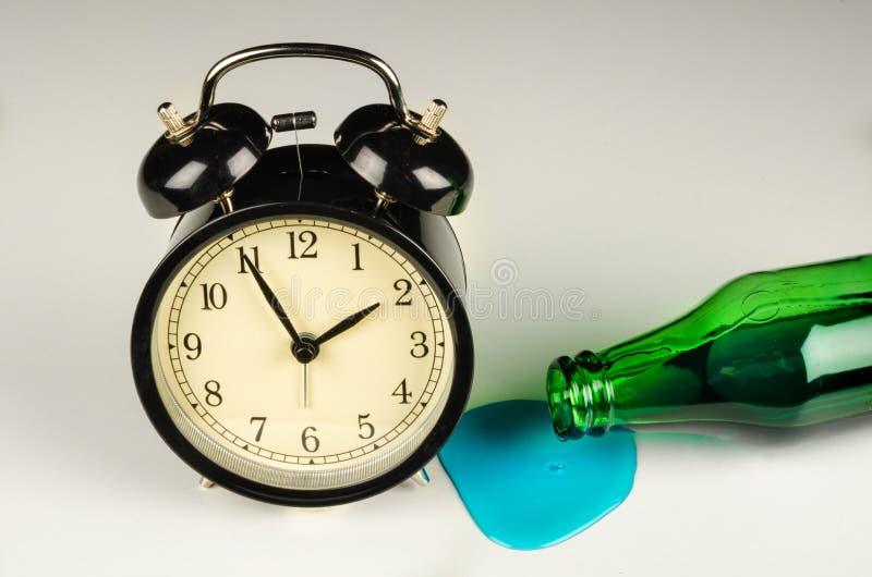 hangover imagem de stock