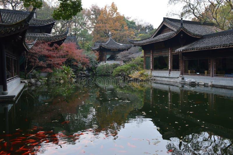 Hangzhou西方湖 免版税库存图片