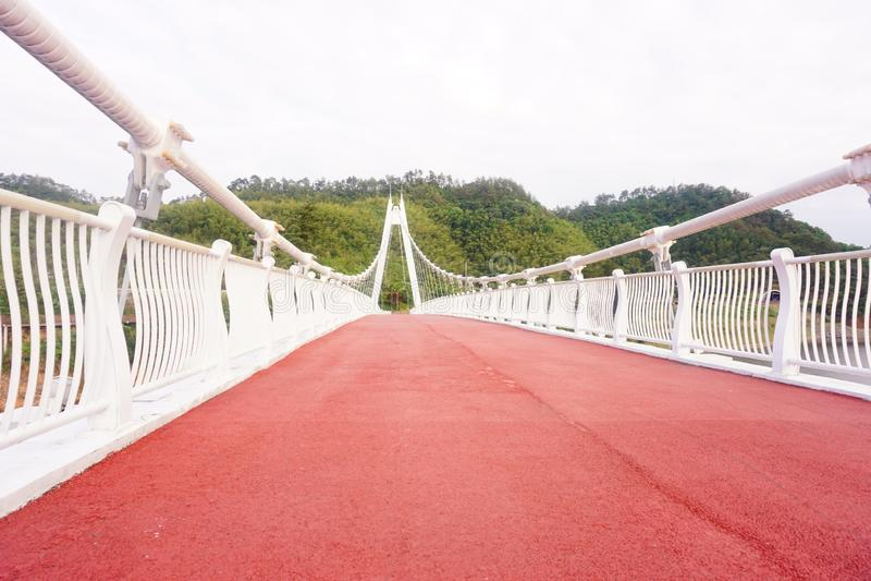 Γέφυρα δυτικών λιμνών Hangzhou στοκ φωτογραφία