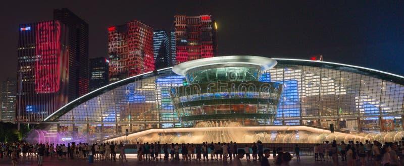 HANGZHOU ILLUMINATION AND FOUNTAIN NIGHT LED stock photos