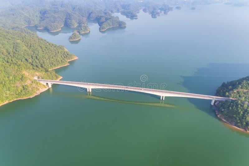 Hangzhou mille paesaggi del lago dell'isola immagine stock