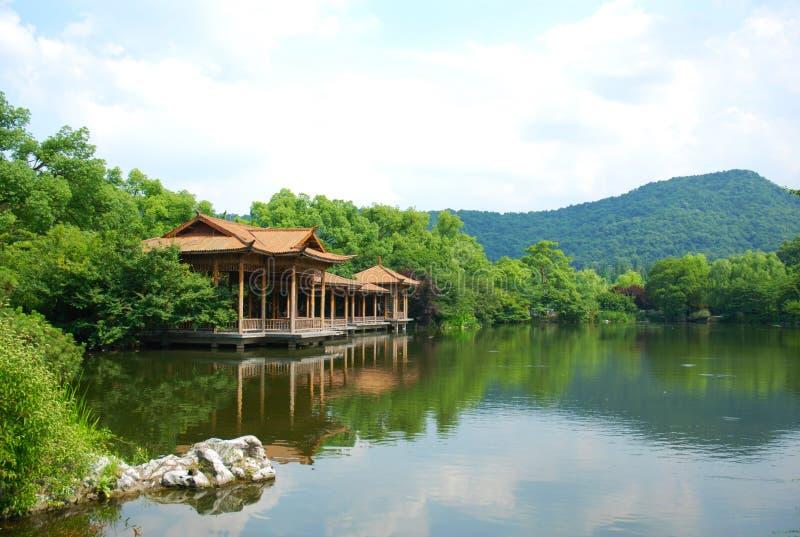 Hangzhou West Lake Scenery Stock Image  Image Of Blue