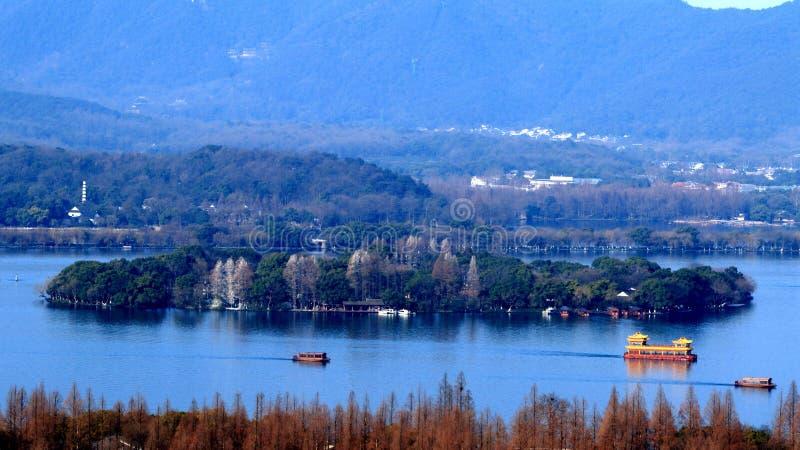 Hangzhou West Lake Scenery Stock Photo  Image Of West