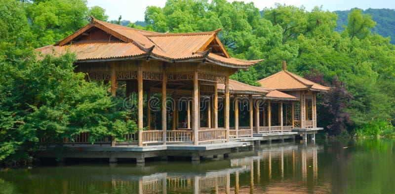 Hangzhou Westseelandschaft stockbilder