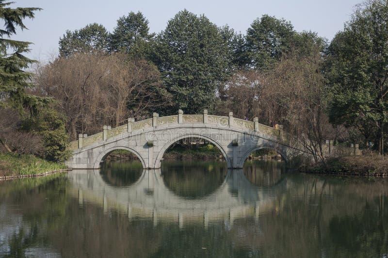 Hangzhou Zachodni Jeziorny Sceniczny teren zdjęcie royalty free
