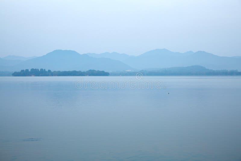 Hangzhou Zachodni jezioro, Zhejiang, Chiny fotografia royalty free