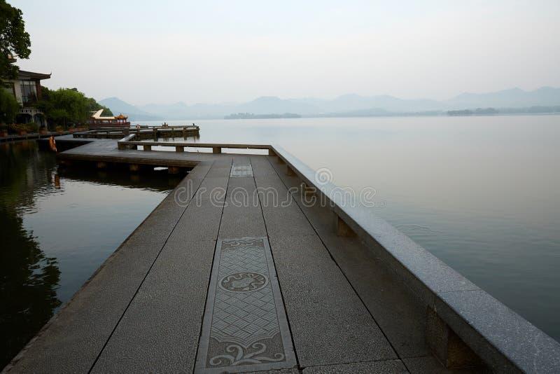 Hangzhou Zachodni jezioro, Zhejiang, Chiny zdjęcia stock