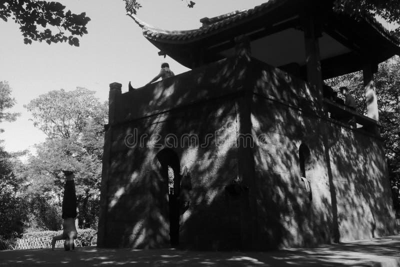 Hangzhouochtend royalty-vrije stock fotografie