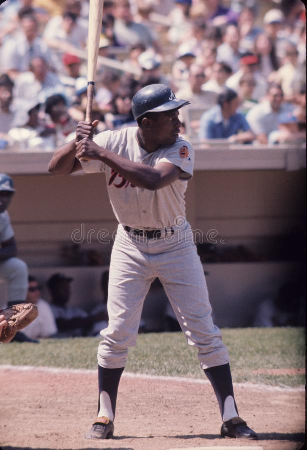Hank Aaron Atlanta Braves lizenzfreie stockfotografie