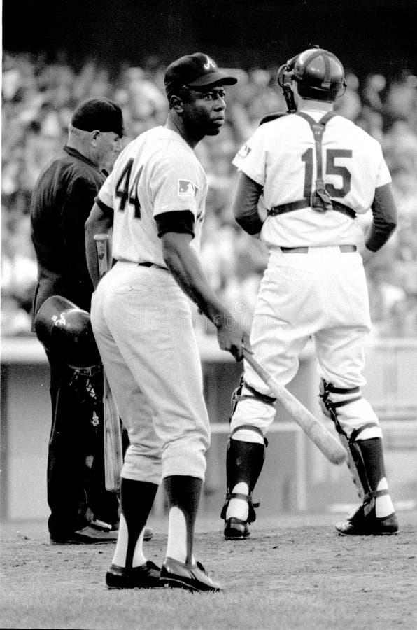Hank Aaron, Atlanta Braves stockfoto