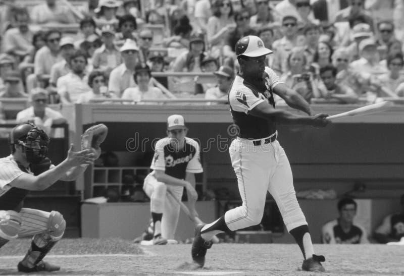 Hank Aaron degli Atlanta Braves fotografia stock