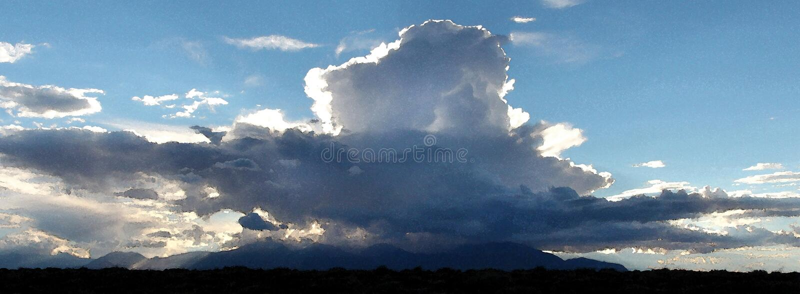 Hanksville Area, Wayne Co, Ut - 2016-09-30 - Burr Point -11: Stormbouw Op Henry Mts Gratis Openbaar Domein Cc0 Beeld