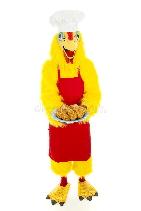 Hannibal the Chicken royalty free stock image