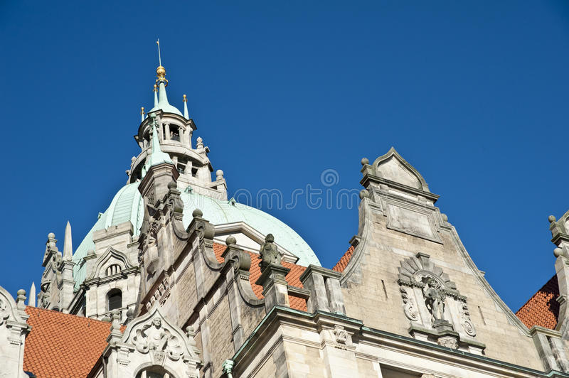Download Hannover stock photo. Image of blue, building, clock - 21653954