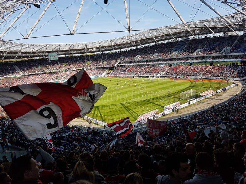 Hannover vs DÃ-¼sseldorf fotografering för bildbyråer