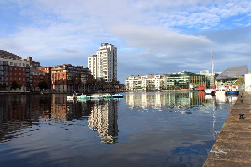 Hannovre Quay Dublin image stock