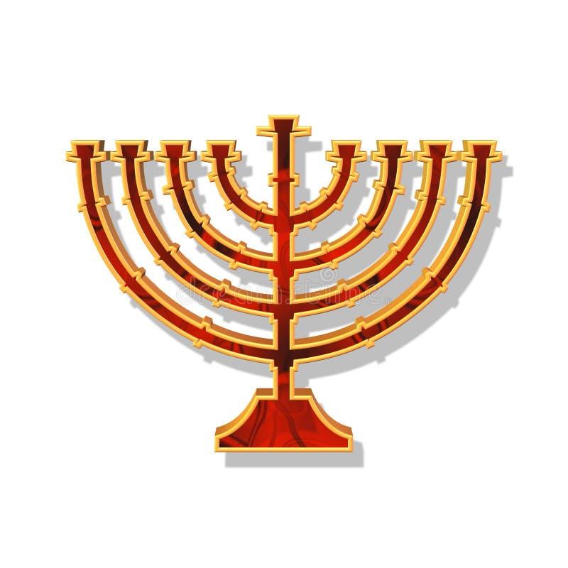 Download Hannukah stock illustration. Illustration of candlestick - 2416435