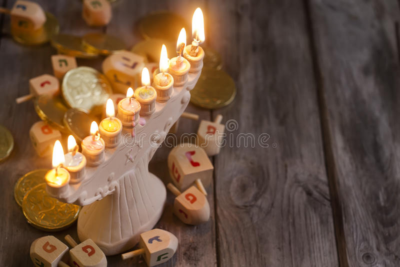 Hannukah background royalty free stock photography