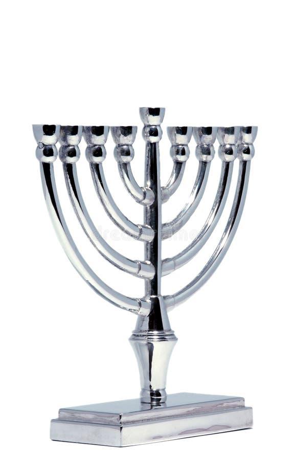 Download Hannukah menorah srebra zdjęcie stock. Obraz złożonej z festiwale - 334310