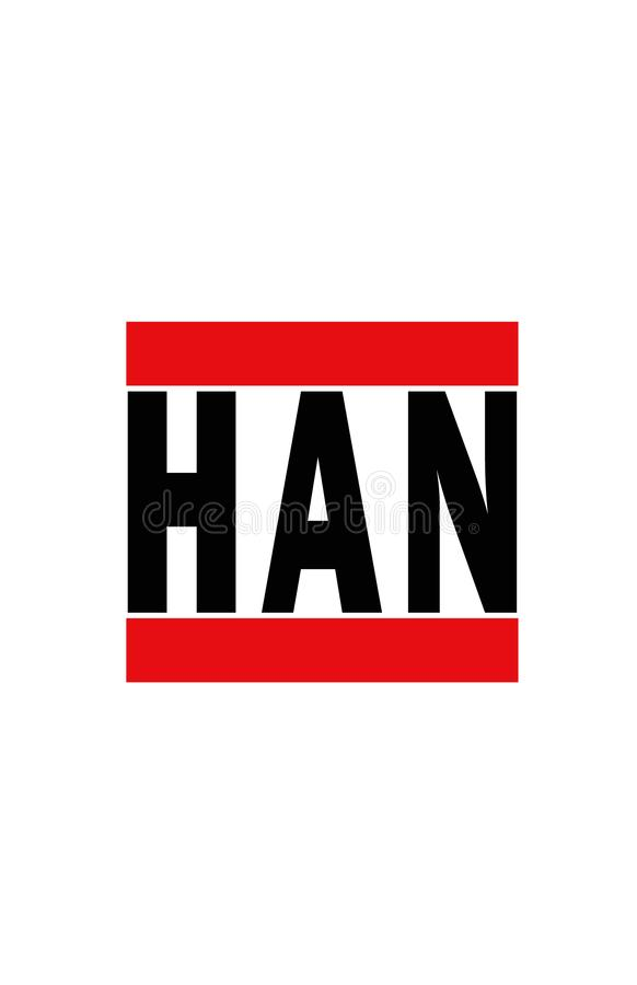 Hanoï, Vietnam illustration stock