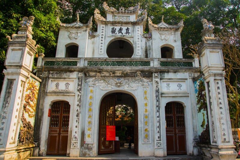 Hanoï Vietnam Quan Thanh Pagoda - Hanoï, Vietnam c'est une destination de touristes célèbre à Hanoï, Vietnam photographie stock libre de droits