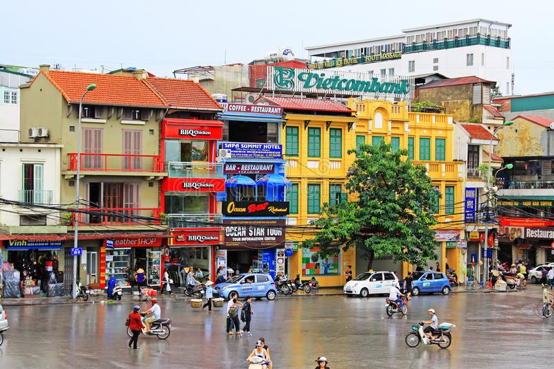Hanoi Cityscape, Hanoi Vietnam royalty free stock image