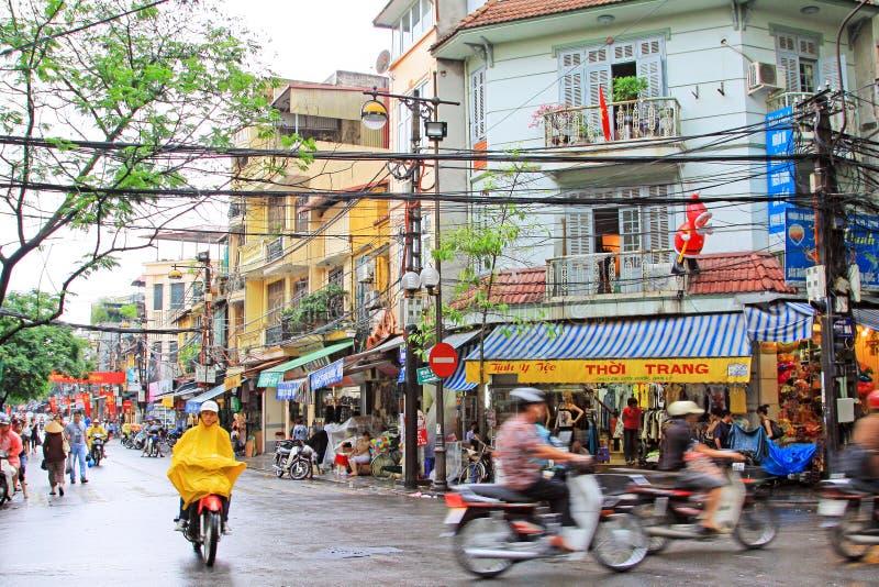 Hanoi Cityscape, Hanoi Vietnam royalty free stock photos