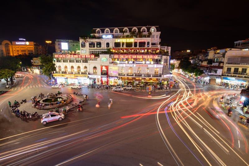 Hanoi Famous Roundabout royalty free stock photos