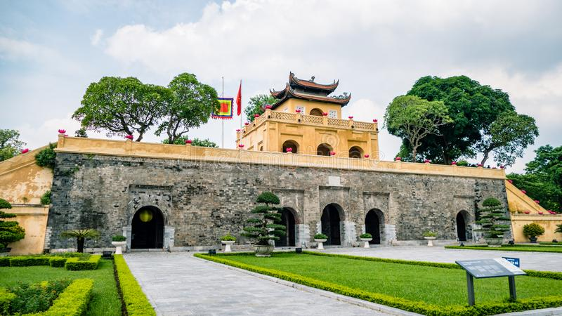 Hanoi Imperial Palace Vietnam South East Asia stock images
