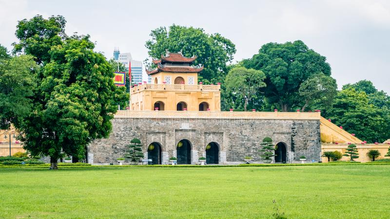 Hanoi Imperial Palace Vietnam South East Asia royalty free stock images