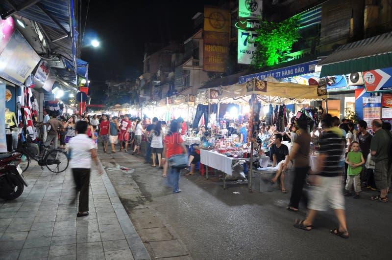Hanoi Night Market Editorial Stock Photo