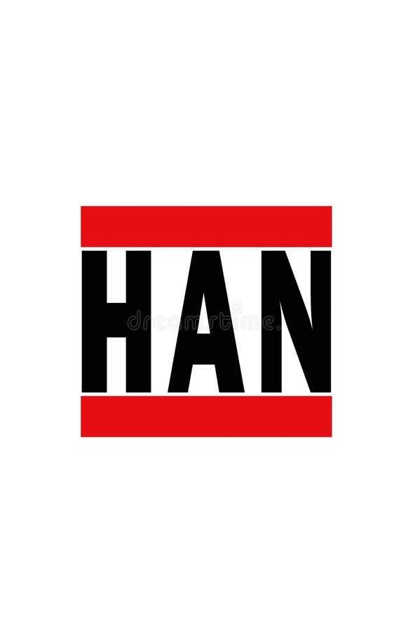 Hanoi, Vietnam stock abbildung