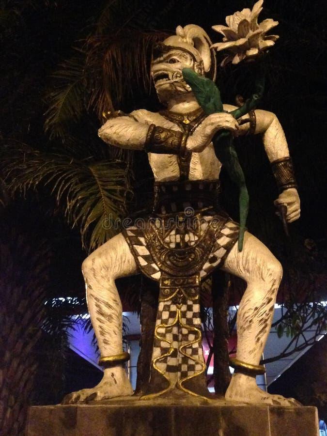 Hanoman statua fotografia royalty free