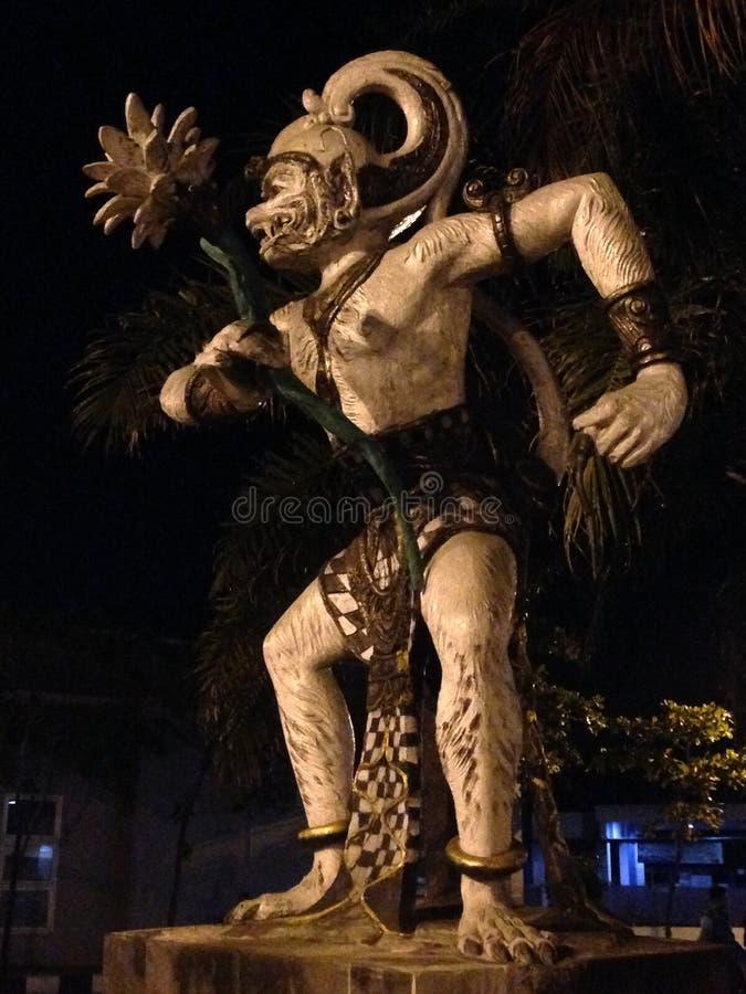 Hanoman staty royaltyfria bilder