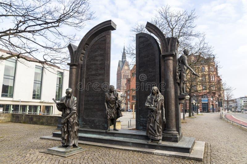 Hanover, Duitsland stock foto's