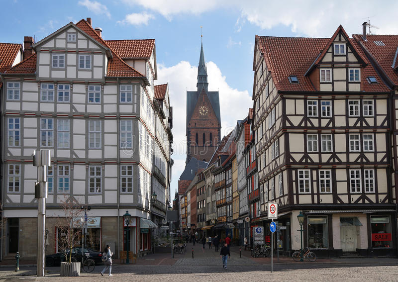 Hanover Duitsland royalty-vrije stock fotografie
